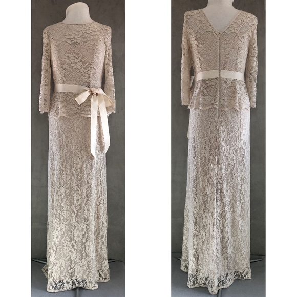 Patra Evening Dresses Champagne